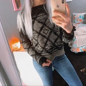 FOREVER 21 | Cozy Pattern Sweater